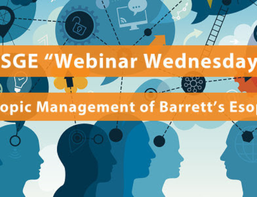 ESGE Webinar Wednesday – Endoscopic Management of Barrett's Esophagus